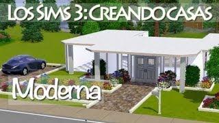 Los Sims 3 | Construyendo casas: Moderna (Pequeña y sencilla)