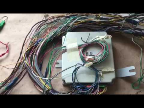 hqdefault 2001 subaru impreza 2 5rs vw wiring harness conversion youtube subaru conversion wiring harness at n-0.co