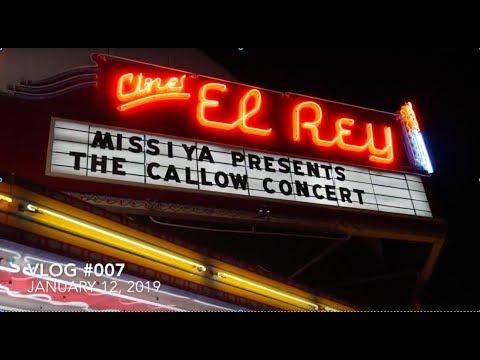 VALLEY VLOGS #007 MISSIYA CALLOW CONCERT