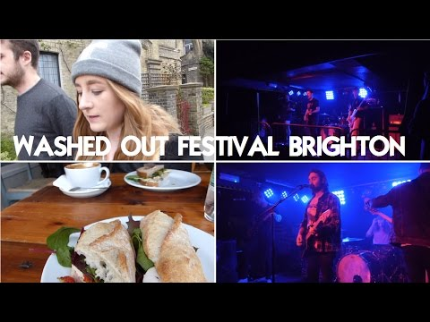 VLOG: WASHED OUT FESTIVAL BRIGHTON | Rachel Hatley