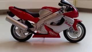 Welly 1:18 Yamaha YZF Tunderace 1000 обзор модели