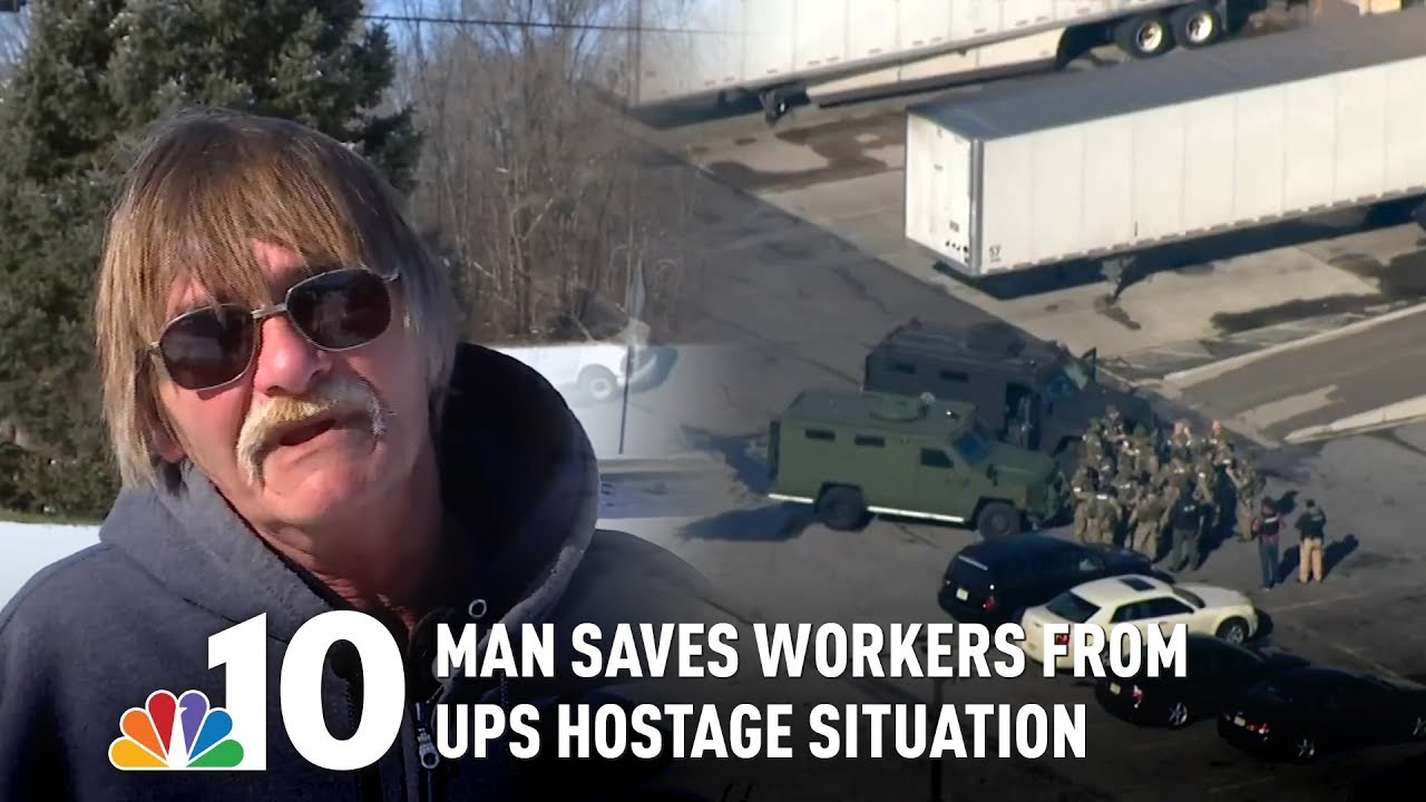 UPS Warehouse Worker Saves Others from Hostage-Taking Gunman