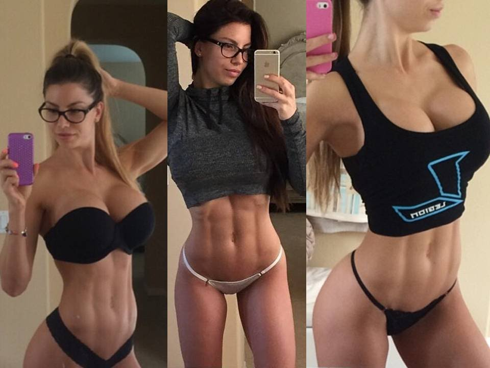 selfies Sexy fitness girls