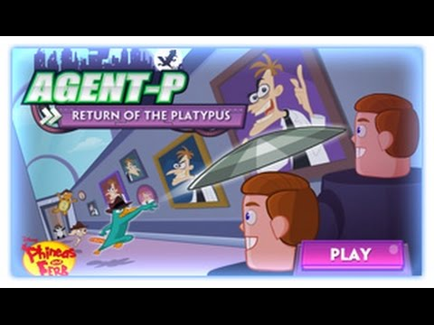 Phineas and Ferb - Agent P Return Of The Platypus - Phineas and Ferb Games