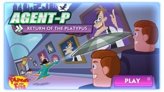 Phineas and Ferb Agent-P Strikes Back Phineas and Ferb Games