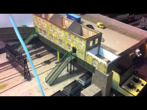 How to build the main station building on a model railway