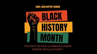 Black History 2021 - A Poem Read By Phyllis Charity