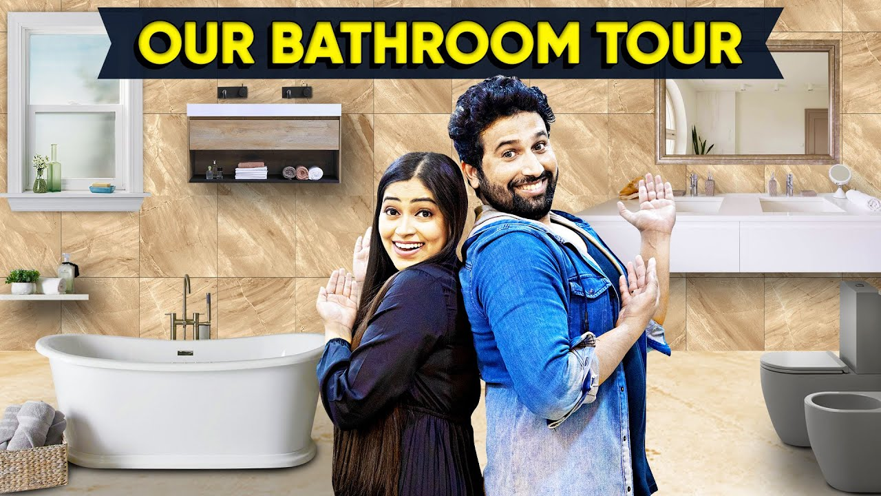 Our Bathroom Tour Luxury*in Budget😍Most Beautiful❤ Romantic Hubby wife Bathroom Decor|Mr&MrsPrince