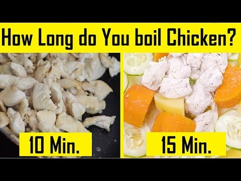 How Long do You Boil Chicken Breast | How Long does it take to Boil Chicken Breast