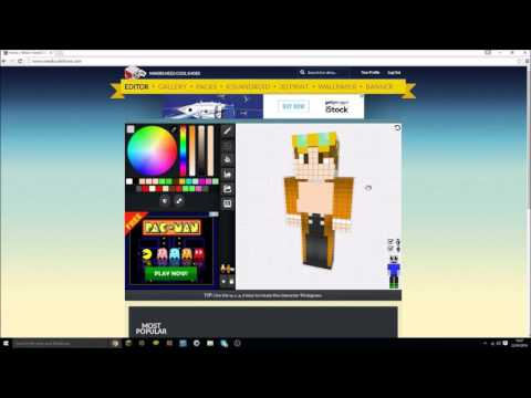 Create A Custom Minecraft Skin! | Miners Need Cool Shoes Tutorial | Tutorial Tim