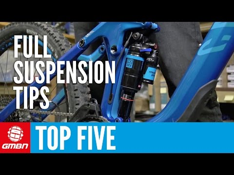 Top Five Full Suspension Mountain Bike Maintenance Tips