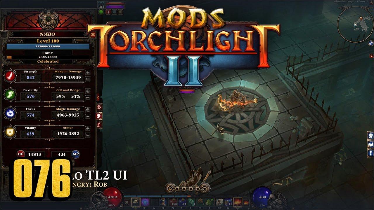 Diablo TL2 UI - Torchlight 2 MOD 076 - YouTube