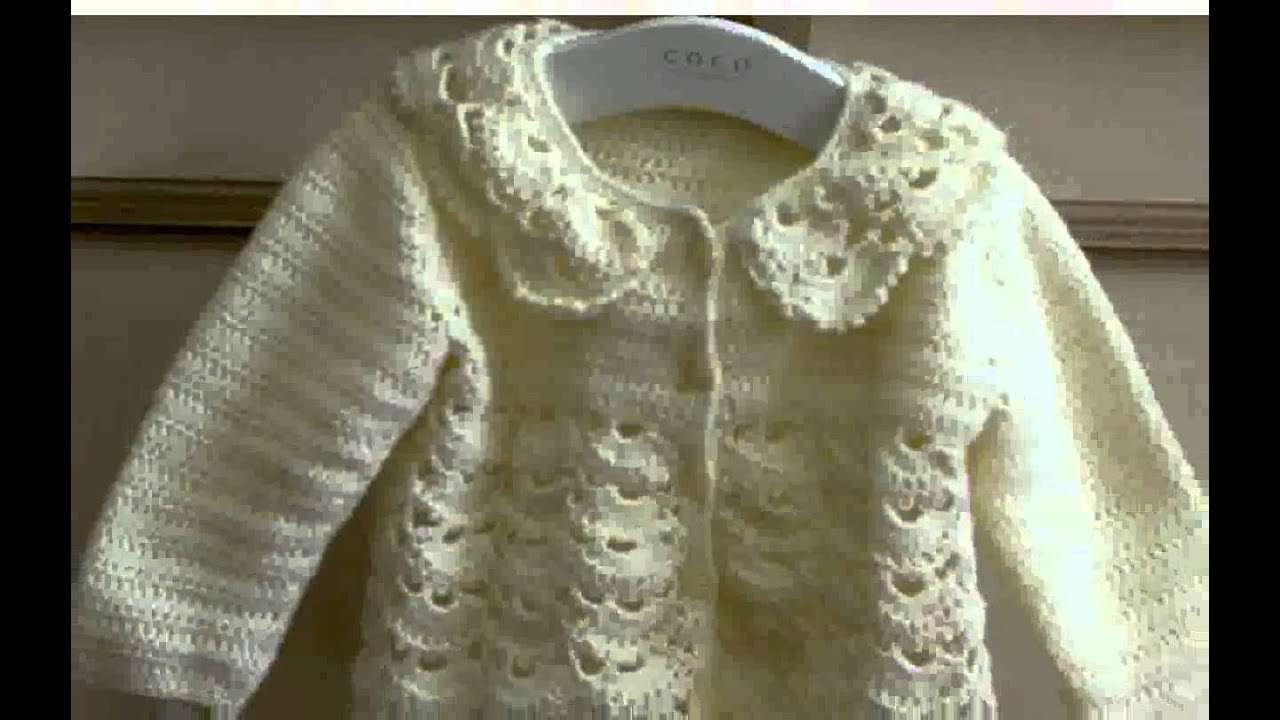 Free Crochet Pattern Little Girl Sweater : Crochet Toddler Sweater Pattern - New - YouTube