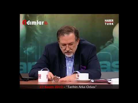 """TARİHÇİ MURAT BARDAKÇI, KENDİSİNİ YALANLIYOR... 27 Kasım 2010 - """"Tarihin Arka Odası"""""""