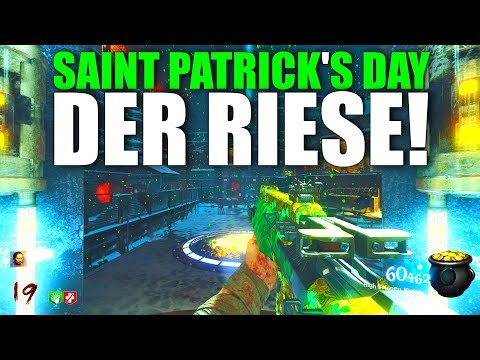 """IRISH DER RIESE! New St. Patrick's Day """"The Giant"""" Zombies Mod!"""