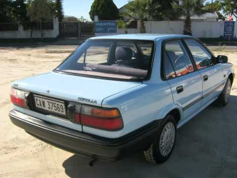 1995 toyota corolla 1 3 l auto for sale on auto trader south africa youtube. Black Bedroom Furniture Sets. Home Design Ideas