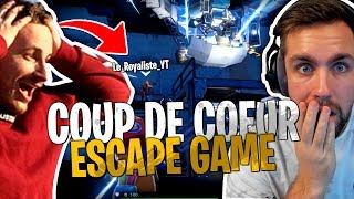 Clairement ma map Escape Game coup de cœur avec LeRoyaliste sur Fortnite Créatif !
