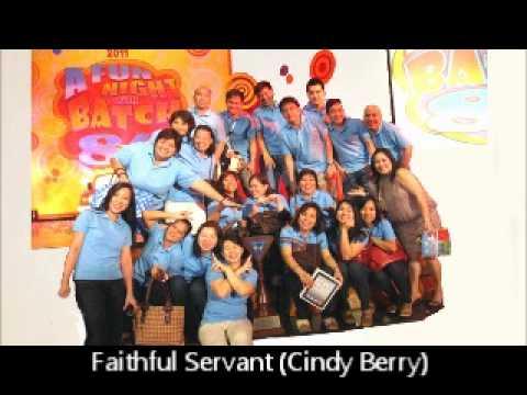 Faithful Servant (Cindy Berry)