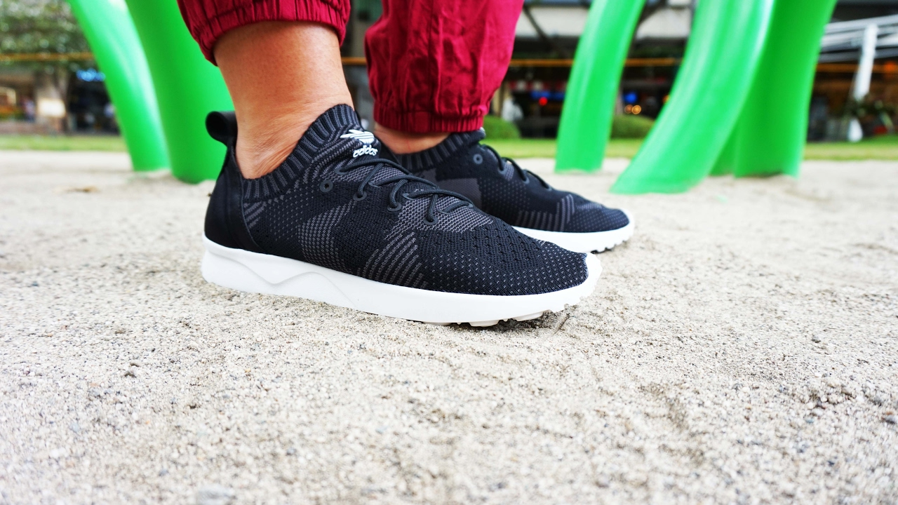 e57922904 Adidas ZX FLUX ADVANCE VIRTUE REVIEW  Ultimate SOCK-LIKE - YouTube
