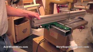 Diy Bandsaw Guide Rails - Video 4 Of 4