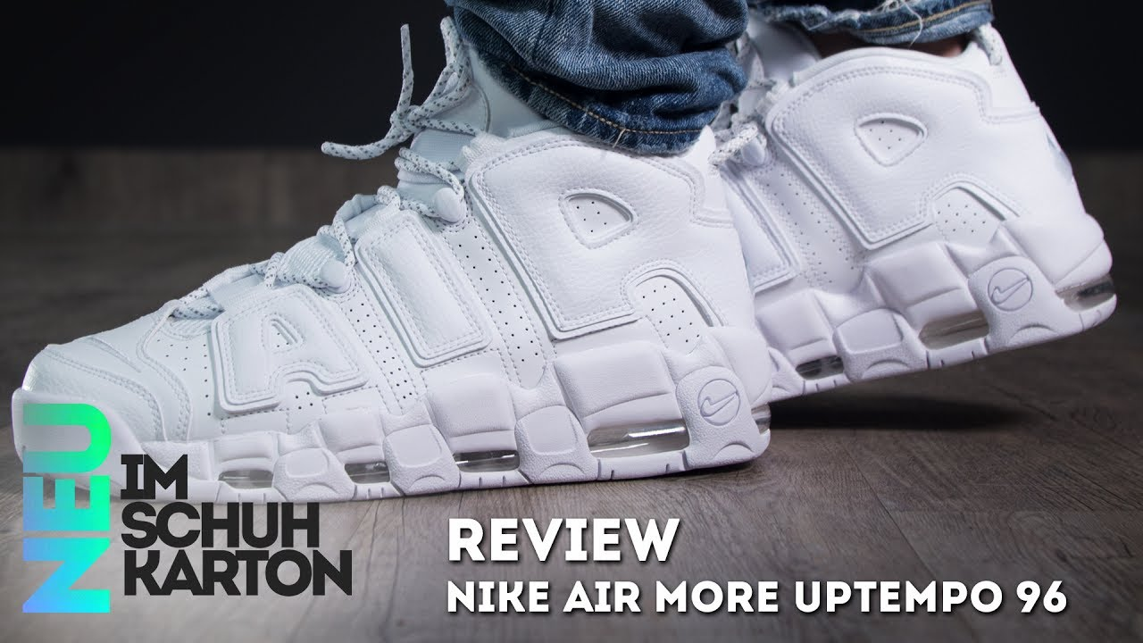 buy popular e1399 40830 Nike Air More Uptempo 96   Review