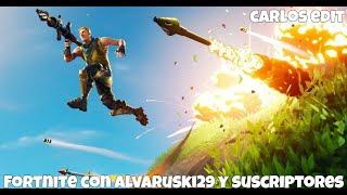 A POR WINS CON SUSCRPTORES Y ALVARUSKI29  - SEASON 4 - Carlos Edit