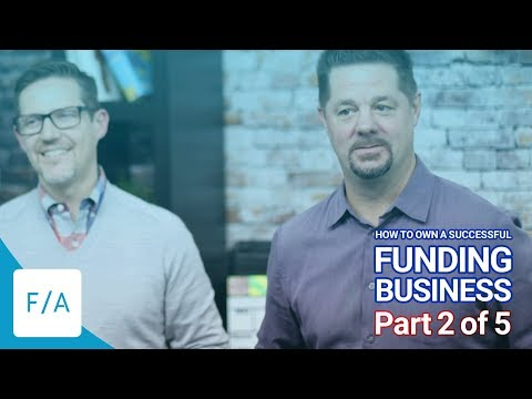 How To Own A Successful Funding Business - Our Product Mix (2 of 5) #FINANCEAGENTS LIVE! 023