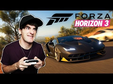 DESTROZANDO EL ASFALTO! Forza Horizon 3 - [LuzuGames]