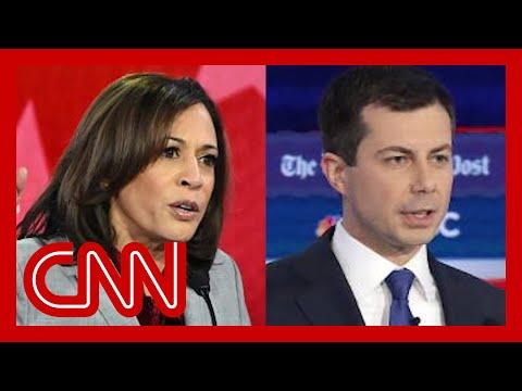 Kamala Harris and Pete Buttigieg weigh in on race during debate