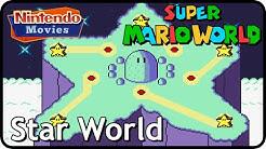 Super Mario World - World 8: Star World (Multiplayer Walkthrough,  All Exits)