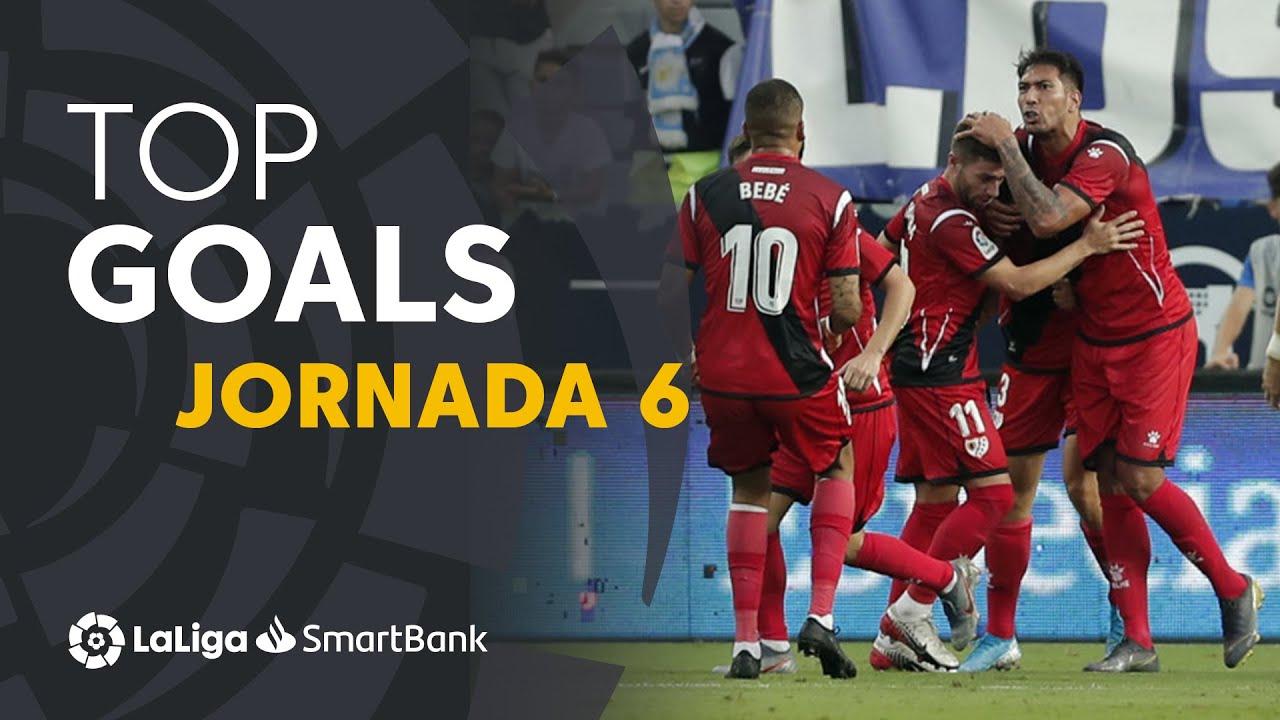 Todos los goles de la Jornada 6 de LaLiga SmartBank 2019/2020