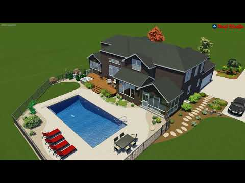 New Berlin, WI New House - New Pool Concept Video