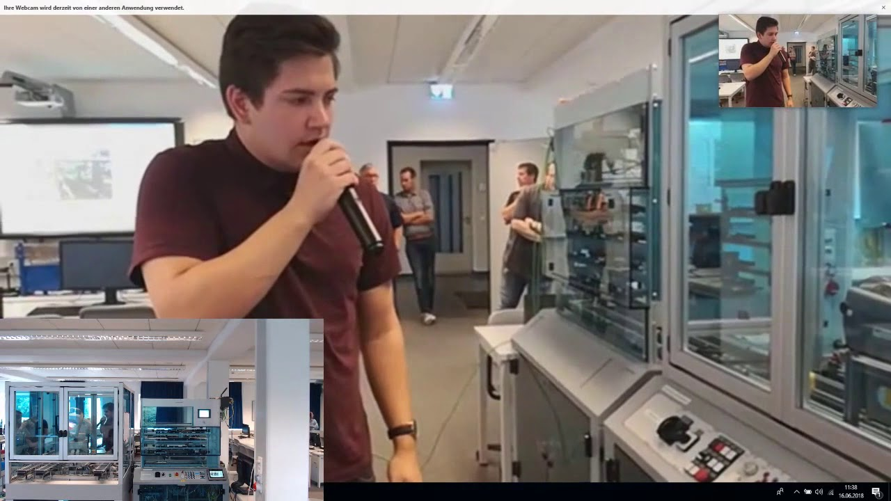 Youtube Video: Kopie von Livestream BBS Brinkstr. Osnabrück Excellence Initiative Industrie 4.0