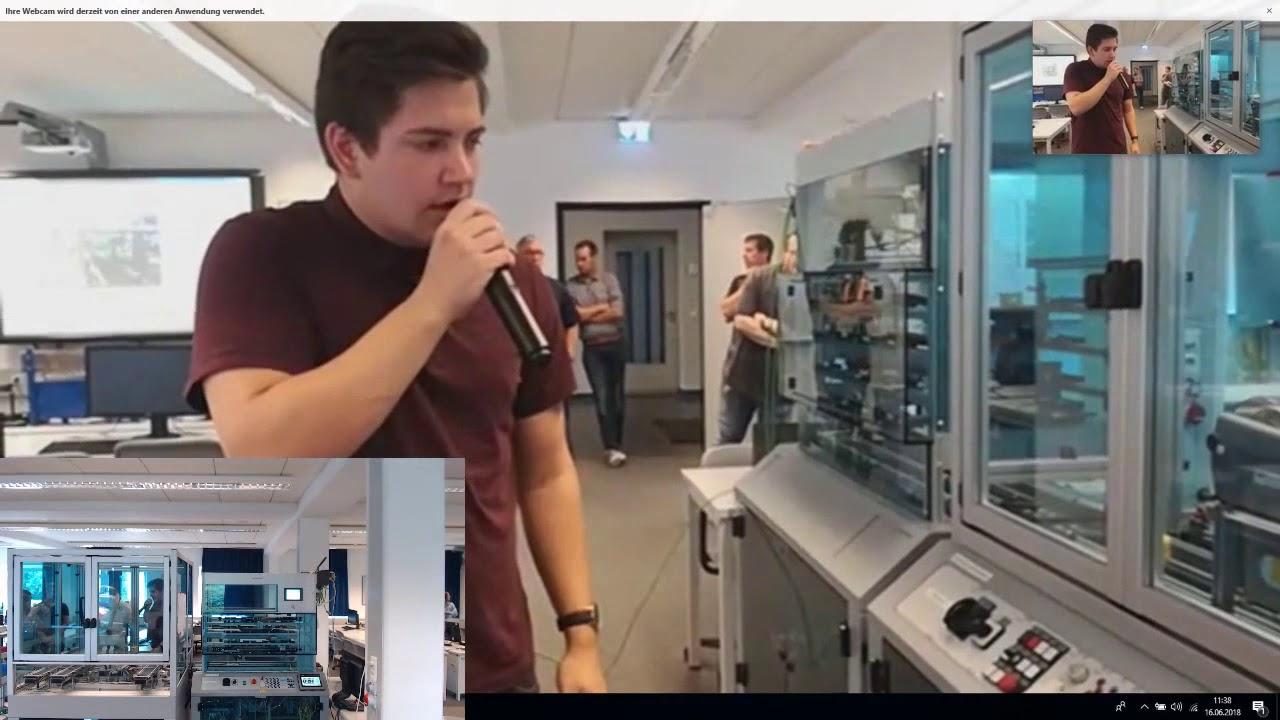 Youtube Video: Kopie von Livestream BBS Brinkstr. Osnabrück Excellence Initiative Industrie 4.0