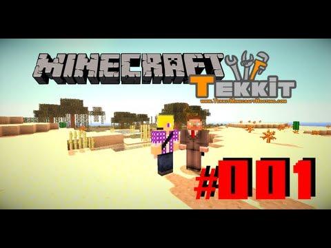 Let's Play Minecraft Tekkit (Classic) #001 - Anfang und Erklärung mit NexotekHD | TheBietz
