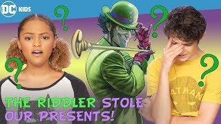 The Riddler Stole Our Presents! | DC Kids Show