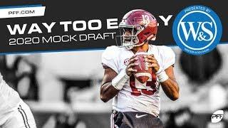 Way too early 2020 NFL Mock Draft   PFF