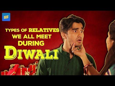 ScoopWhoop : Types Of Relatives You Meet During Diwali