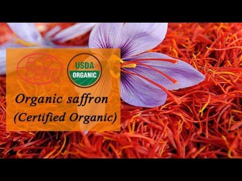 Organic Saffron supplier in Colombia