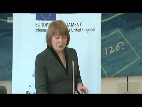 UK Parliament Open Lecture -- The European Parliament
