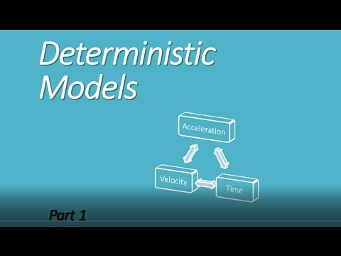 Introduction to Deterministic Models
