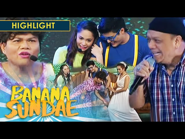 Banana Sundae: Mitoy Yonting sings for Baby Boy and Baby Girl's love story
