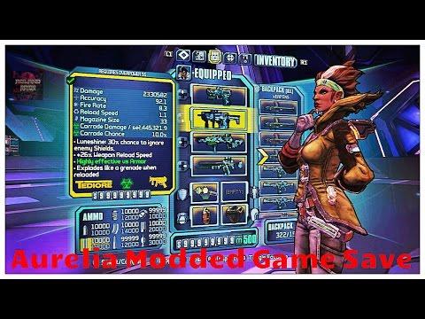 borderlands modded game save download