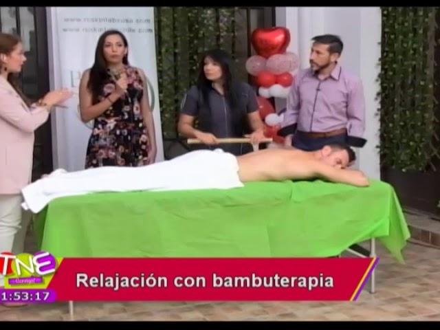 Relajación mediante Bambuterapia