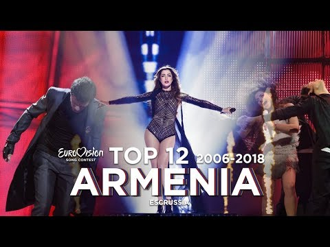 Armenia In Eurovision - Top 12 (2006-2018)