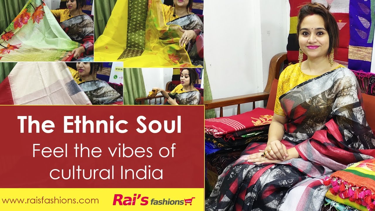 The Ethnic Soul || Hand Weaving Ethnic Sarees Collection (13th July) - 12SH