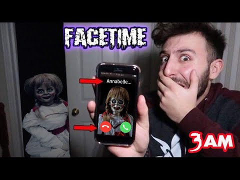 SHE FOUND US CALLING ANNABELLE ON FACETIME AT 3 AM in TOMS HOUSE  DONT FACETIME ANNABELLE AT 3 AM