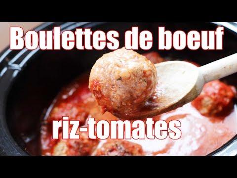boulettes-de-boeuf-au-riz-et-tomates-🍚-🍅