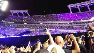 Wrestlemania 33 The Undertaker and Roman Reins in Orlando Florida
