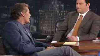 Jimmy Kimmel Show - David Hasselhoff